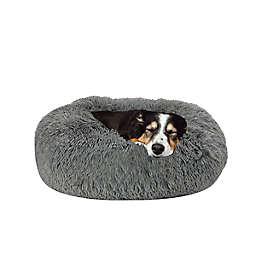 Arlee Home Fashions Calming Memory Foam Vegan Fur Pet Bed
