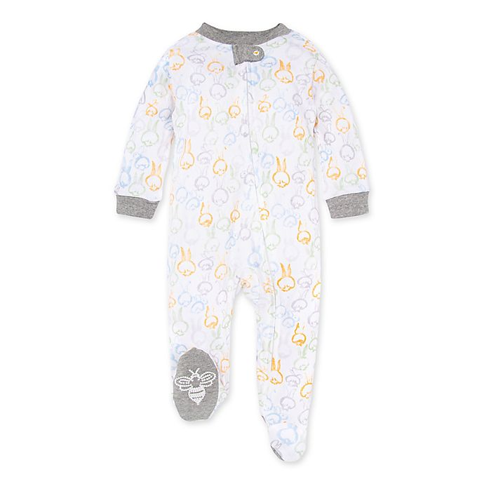 Alternate image 1 for Burt's Bees Baby® Cotton Tails Organic Cotton Pajama