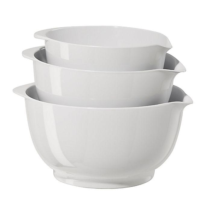 Alternate image 1 for Simply Essential™ 3-Piece Melamine Bowls Set
