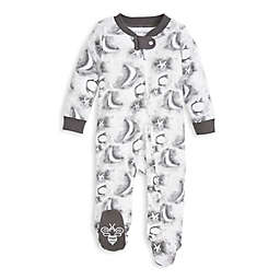 Burt's Bees Baby® Size 6-9M Cloudy Night Sleep & Play Footie in Grey