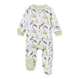 Burt's Bees Baby® Flying Tropics Organic Cotton Sleep 'N Play Footie in Mint