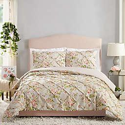 Jessica Simpson Mils 3-Piece Comforter Set in Grey
