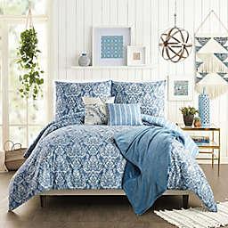 Jessica Simpson Tonal Damask 6-Piece Reversible Comforter Set