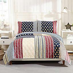 Americana 3-Piece Quilt Set