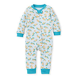 Burt's Bees Baby® Size 3-6M Slow and Steady Sleep & Play in Mint