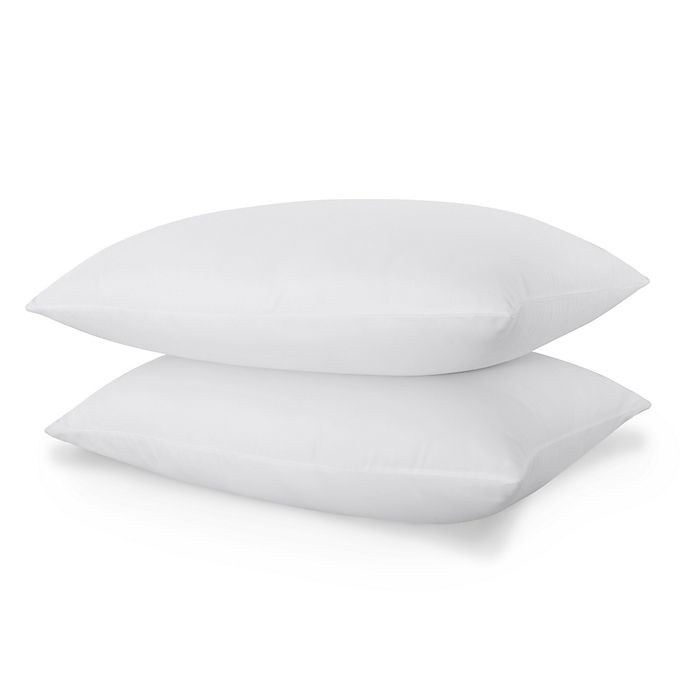 Alternate image 1 for Clean Start Antimicrobial 2-Pack Medium Standard/Queen Bed Pillows
