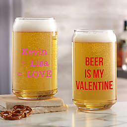Sweet Drinks Printed Beer Can Glass