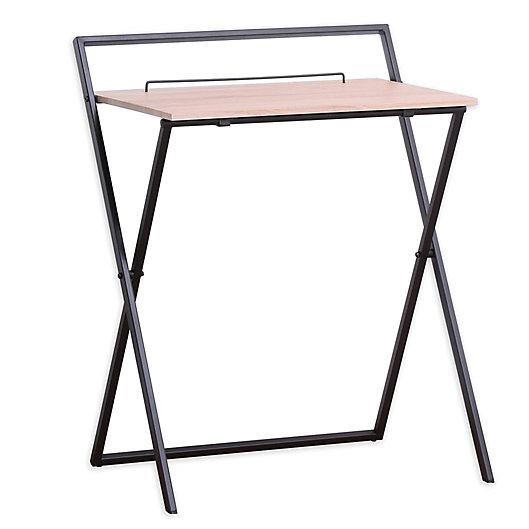 Alternate image 1 for Folding Desk in Grey
