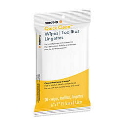 Medela® 30-Count Quick Clean™ Wipes