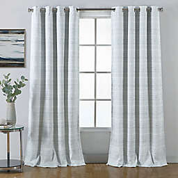 Therapedic® Ludlow 108-Inch Grommet 100% Blackout Window Curtain Panel in Blue
