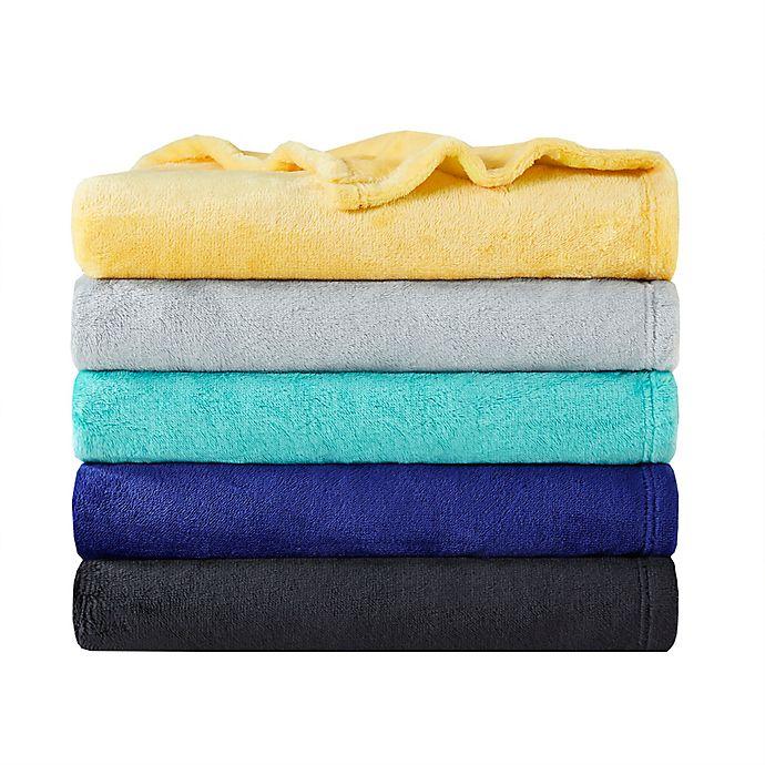 Alternate image 1 for Intelligent Design Microlight Plush Throw Blanket