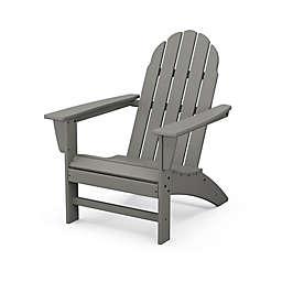 POLYWOOD® Vineyard Adirondack Chair in Grey
