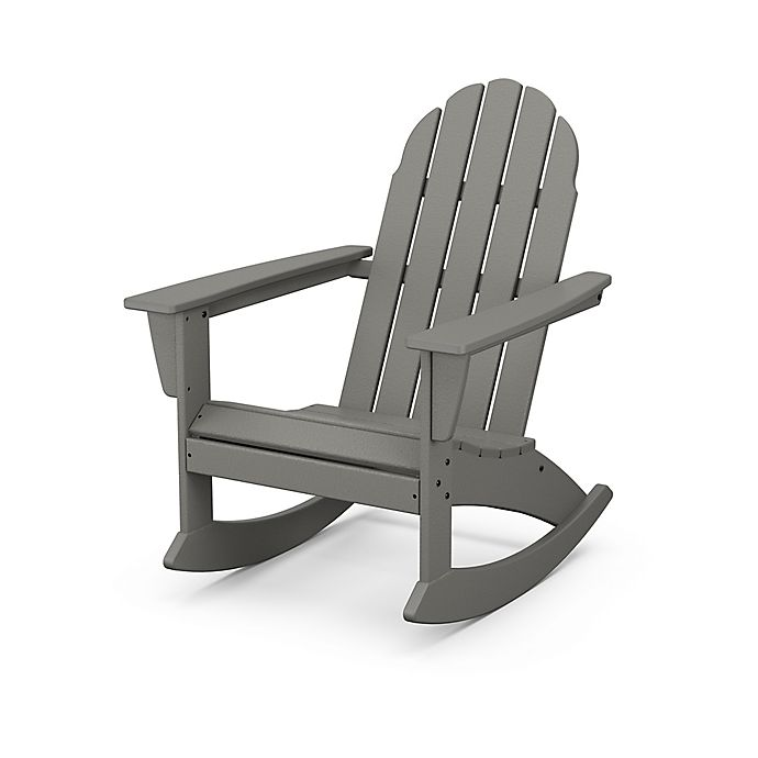 Alternate image 1 for POLYWOOD® Vineyard Outdoor Adirondack Rocking Chair