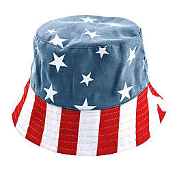 Generic Toddler Bucket Hat in Red/White/Blue