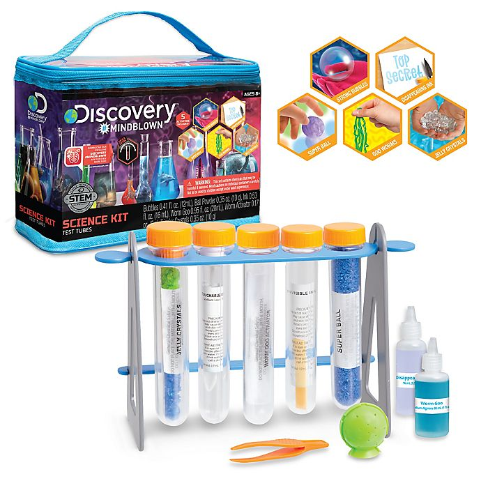 Alternate image 1 for Discovery™ MINDBLOWN Test Tubes Science Kit