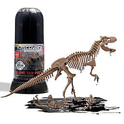 Toy Dino Skeleton Slime Test Tube 10-Piece Playset in Tan