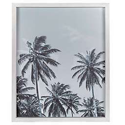 Stratton Home Décor 16-Inch x 20-Inch Framed Palm Trees Wall Art