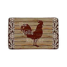 Jolly Rooster Anti-Fatigue Kitchen Mat in Rain Drum