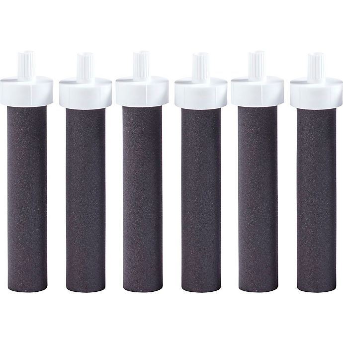 Alternate image 1 for Brita® 6-Pack Water Bottle Replacement Filters