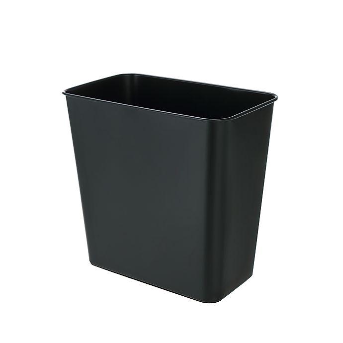 Alternate image 1 for Simply Essential™ Stainless Steel Wastebasket