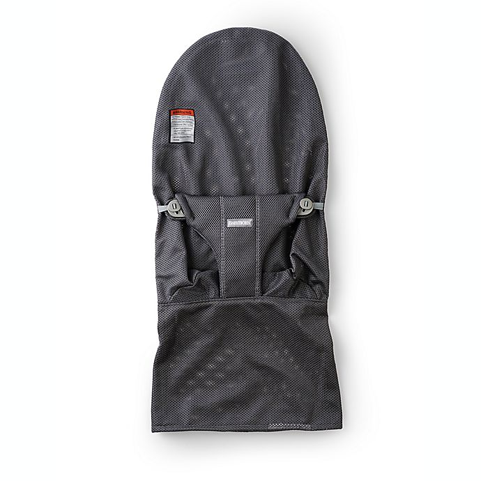 Alternate image 1 for BABYBJÖRN® Mesh Fabric Seat for Bouncer in Anthracite/Grey