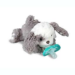 RaZbaby® RaZbuddy Puppy Pacifer Holder with Removable JollyPop Pacifier