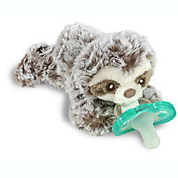 RaZbaby® RaZbuddy Sloth Pacifer Holder with Removable JollyPop Pacifier