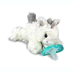 RaZbaby® RaZbuddy Unicorn Pacifer Holder with Removable JollyPop Pacifier