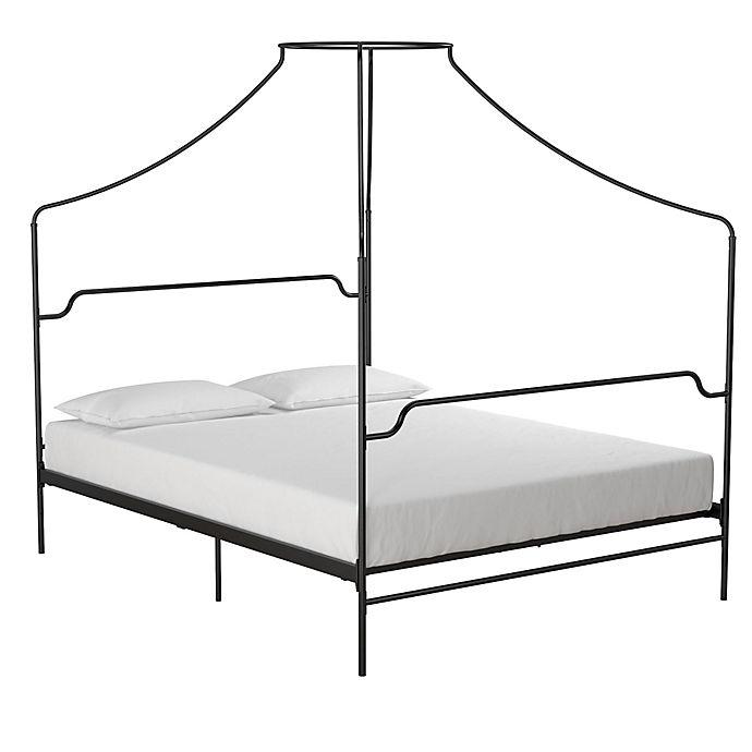 Alternate image 1 for Novogratz Camilla Metal Canopy Bed