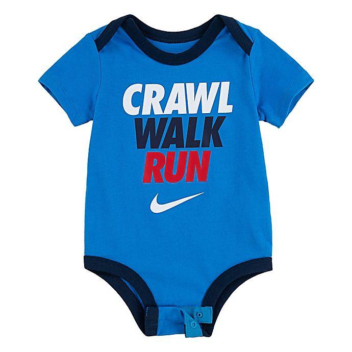 Alternate image 1 for Nike® Crawl Walk Run Bodysuit