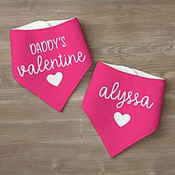 My Valentine 2-Pack Bandana Bibs