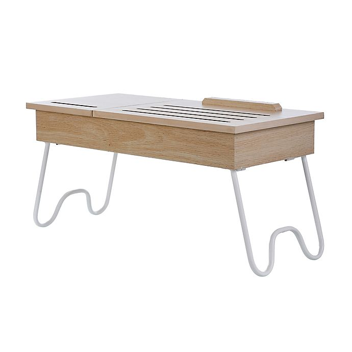 Alternate image 1 for Simply Essential™ Portable Lap Desk in Natural