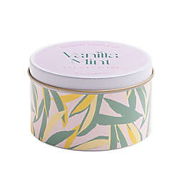Vanilla Mint 5 oz. White Tin Scented Candle