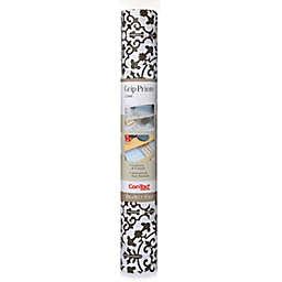 Con-Tact® Carrara Grip Prints Vinyl Liner in Charcoal