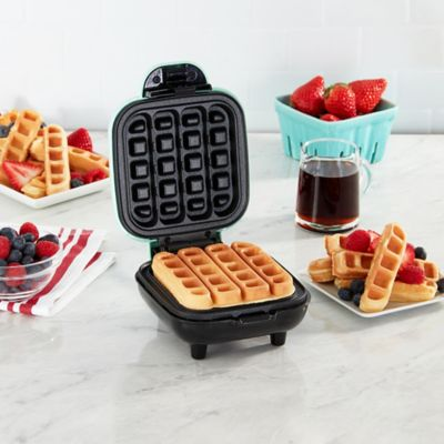 Dash Heart Mini Waffle Maker In Red Bed Bath Beyond
