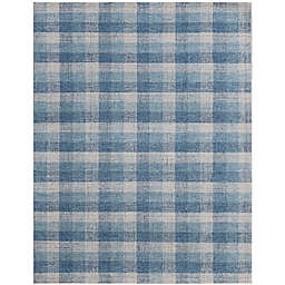 Amer Rugs Tracina Liliana 8' x 10' Handcrafted Area Rug in Blue