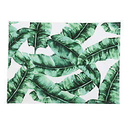Banana Leaf Placemats in Green (Set of 4)