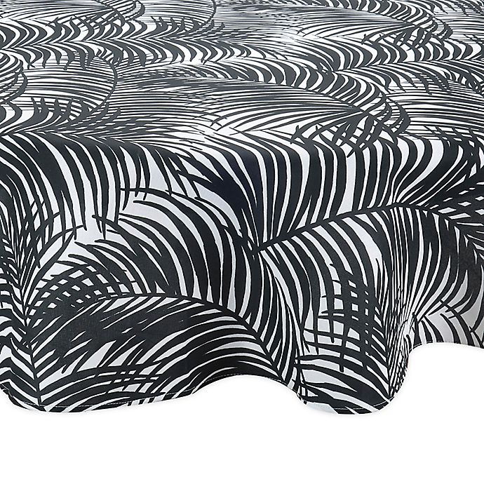 Alternate image 1 for Kauai Round Indoor/Outdoor Tablecloth