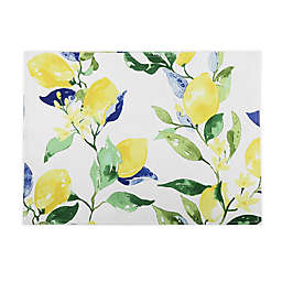 Lemon Vines Stripe Placemats (Set of 4)