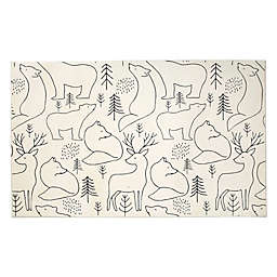 Levtex Home Bailey 8' x 10' Area Rug in Charcoal/Cream