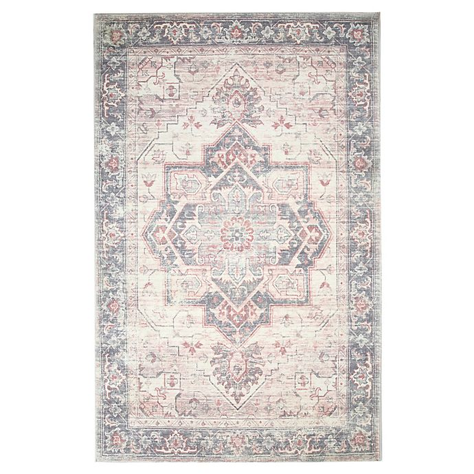 Alternate image 1 for Levtex Home Heritage Medallion 5' x 7' Area Rug in Blush