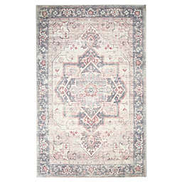 Levtex Home Heritage Medallion Area Rug in Blush