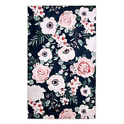 Levtex Home Fiori Floral 5' x 7' Area Rug in Navy/Blush