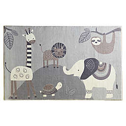 Levtex Home Safari Animal Area Rug in Grey