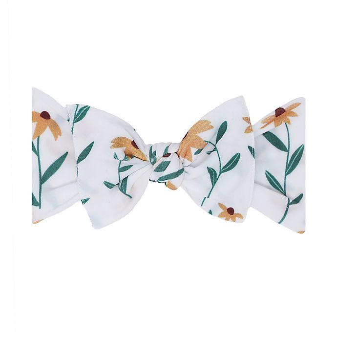 Alternate image 1 for Baby Bling® Printed Knot Headband