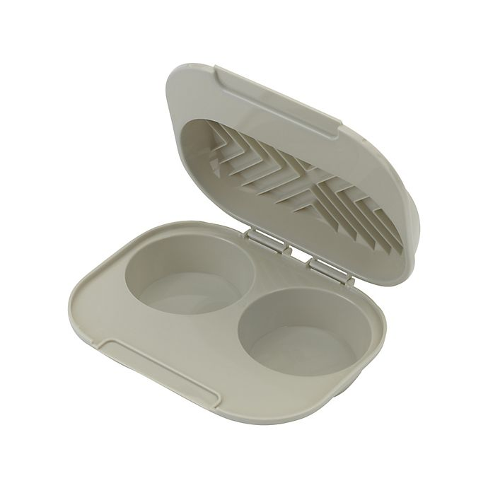 Alternate image 1 for Simply Essential™ Meals in Minutes Microwave Egg Poacher in Beige