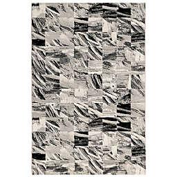 Liora Manne Taos Squares Rug in Grey