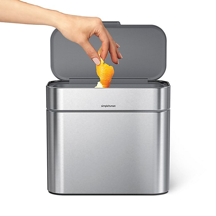 Alternate image 1 for simplehuman® 4-Liter Compost Caddy