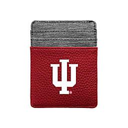 Indiana University Pebble Front Pocket Wallet