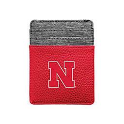 University of Nebraska Pebble Front Pocket Wallet